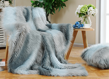 Plush Polyester Super Soft Faux Fur Blanket Factory China
