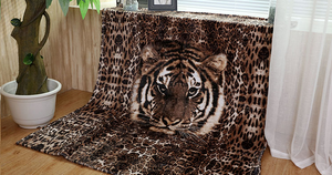 China Factory Wholesale Ultra Soft Animal Printed Blankets