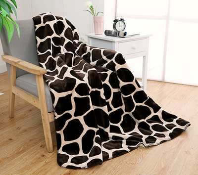 New Design Printed Super Soft Thick Flannel Blanket
