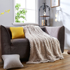 China Factory Supply Soft Fabric Blanket Custom Printed Home Use Blanket