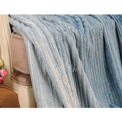 Anti-Pilling Solid Color Coral Fleece Flannel Blanket