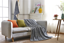New Type Top Sale 100% Polyester Jacquard Fabric Blanket