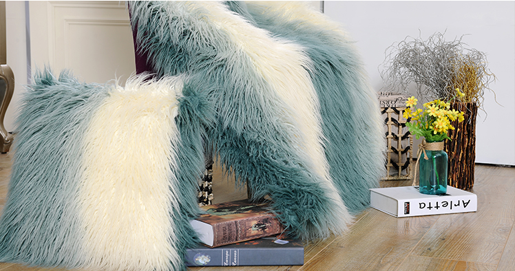 Thick Soft Plush Wholesale King Size Fur Blanket