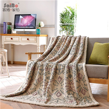 Anti-Pilling Knitted Home Custom Flannel Blanket