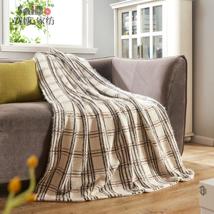 Comfortable Custom Polyester Super Soft Flannel Blankets