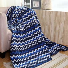 100% Polyester Printed Inflight Polar Fleece Blanket